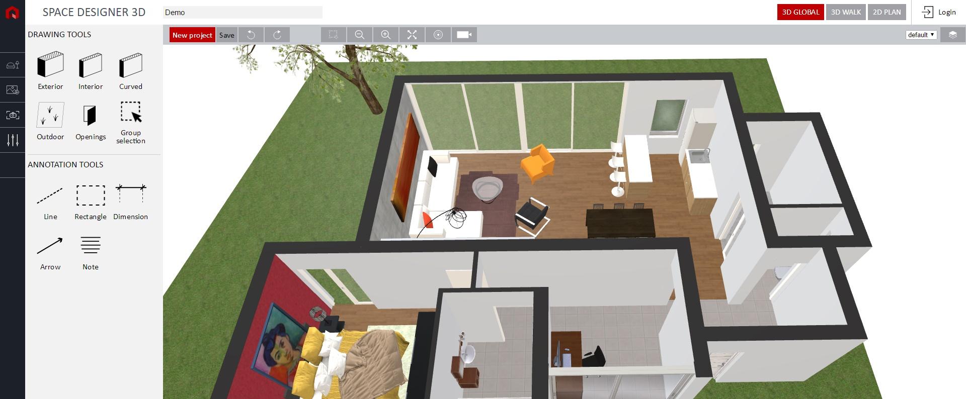 Space-designer-3D