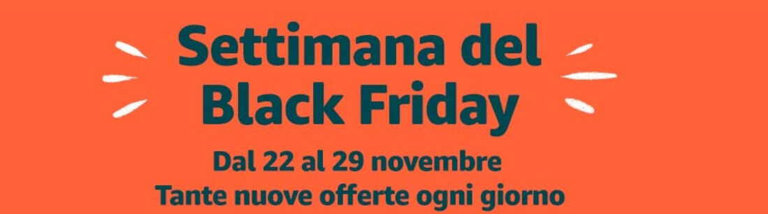 offerte amazon black friday italia 2019