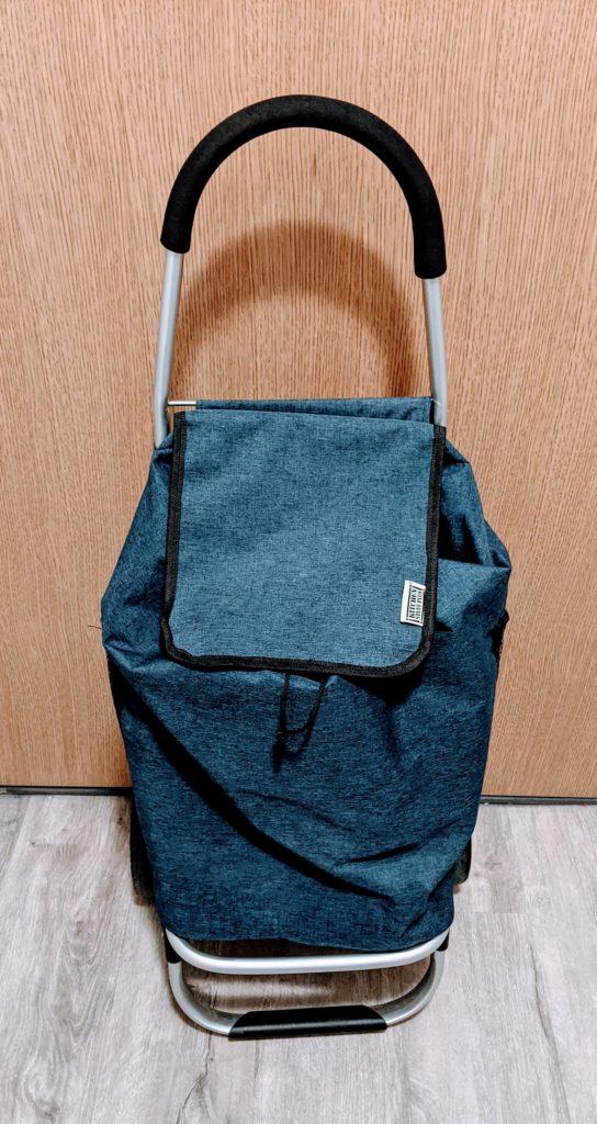 carrello per la spesa con borsa isotermica